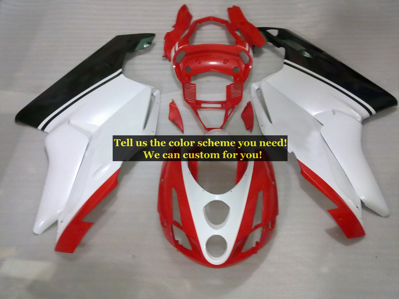 Custom Injection Molding Fairing kits For Ducati 999 749 2003 2004