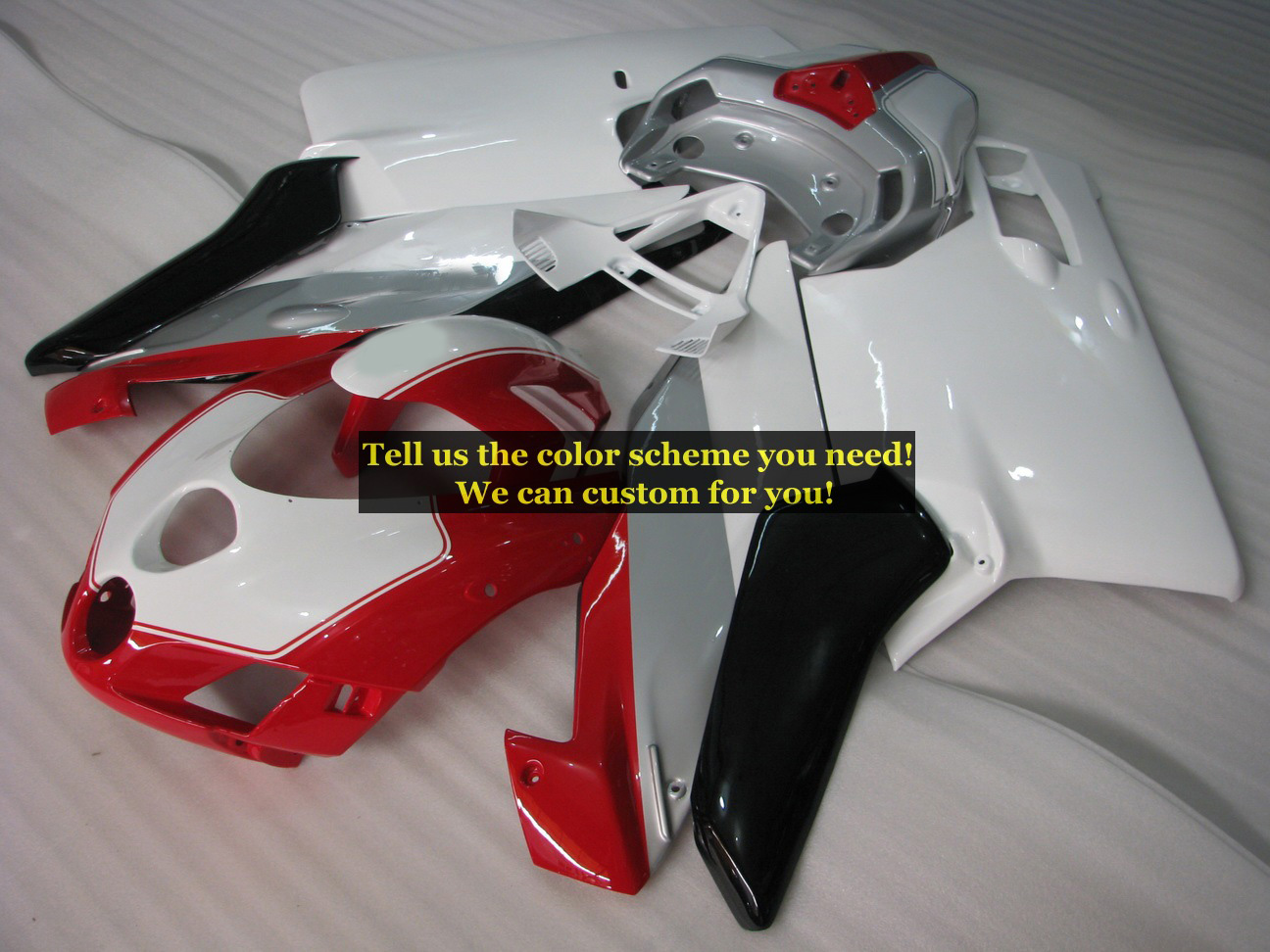 Custom Injection Molding Fairing kits ForDucati 999 749 2005 2006