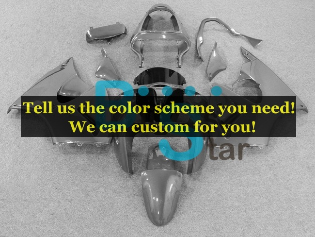 custom fairing kits fit for Kawasaki Ninja ZX-6R 2000 2001 2002