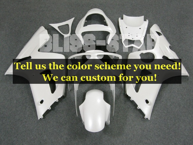custom fairing kits fit for Kawasaki Ninja ZX-6R 2003 2004