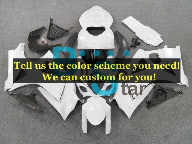 custom fairing kits fit for Suzuki GSXR 1000 K7 2007 2008