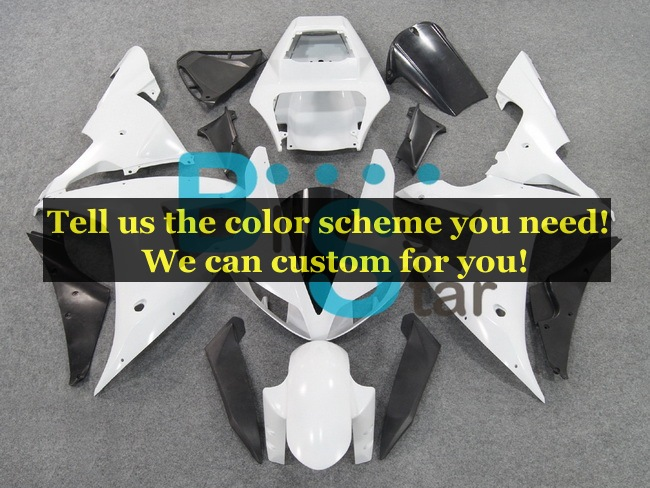 custom fairing kits fit for Yamaha YZF1000 R1 2002 2003