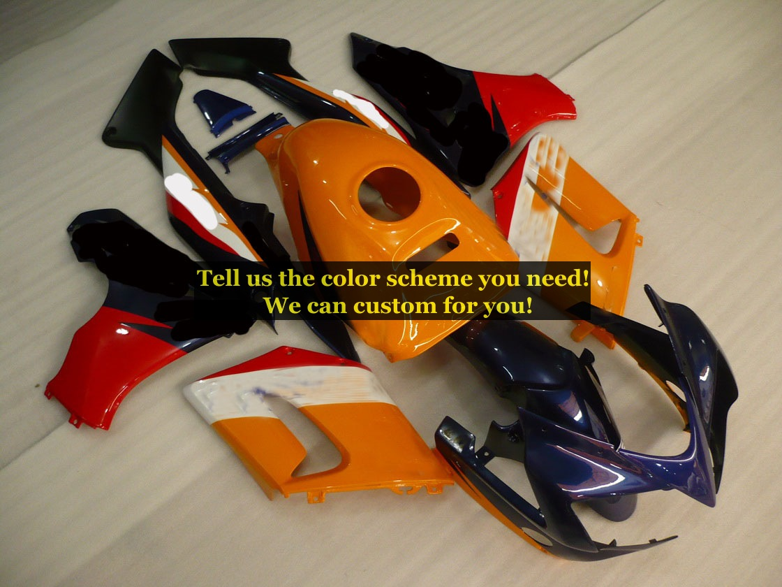 custom fairing kits fit for honda CBR125R 2002 2003 2004 2005 2006