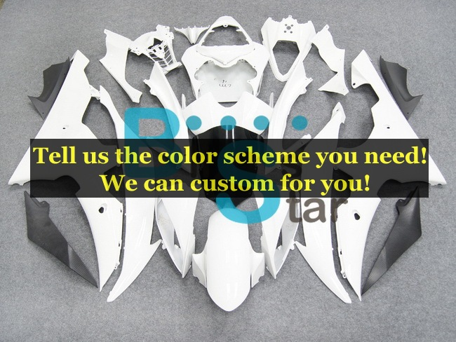 custom fairing kits fit for Yamaha YZF 600 R6 2008-2015