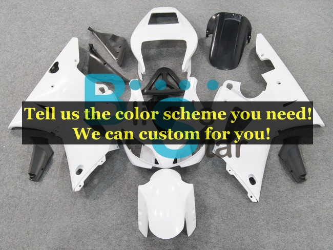 custom fairing kits fit for Yamaha YZF1000 R1 1998 1999