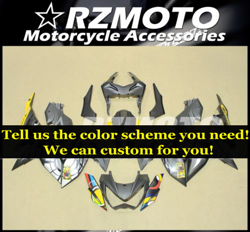 custom fairing kits fit for Kawasaki Z250 Z300 2015 2016